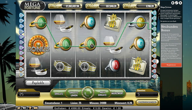 online casino echtgeld mega fortune